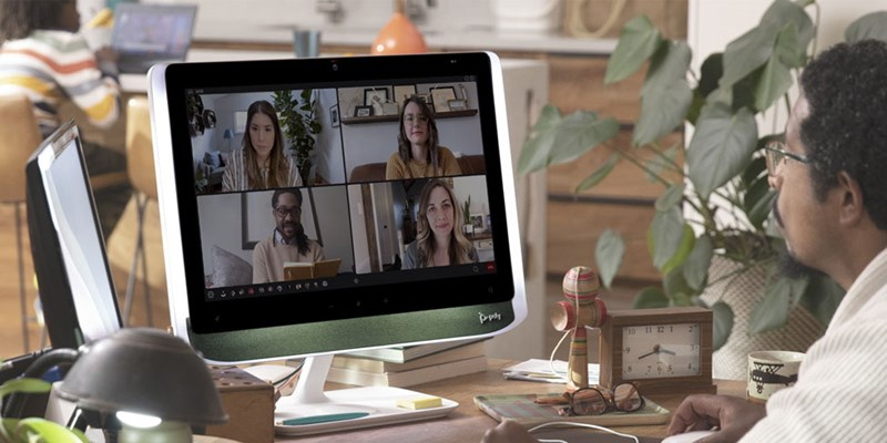 Poly Studio P21 Personal Meeting Display