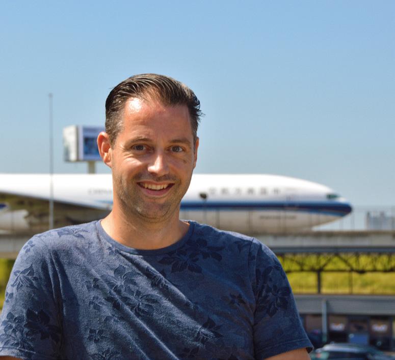 Geen vliegtuig zou vertrekken van de Nederlandse luchthaven.